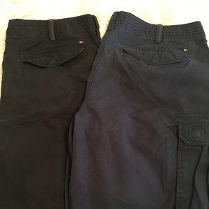 EUC🦋Men's Tommy Hilfiger Cargo Shorts